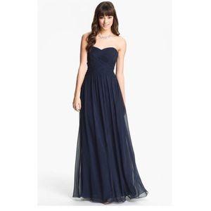 New LAUREN RALPH LAUREN EVENING Strapless Gown 12
